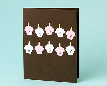 How to cupcake birthday card paper source blog cupcake cutout card bookmarktalkfo