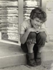 Sue as a young girl