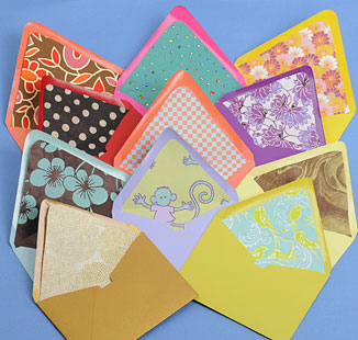 PS envelope liners