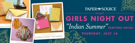 Paper Source Girls Night Out