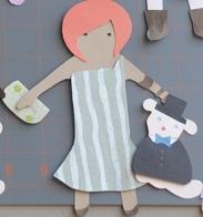 redhead paper doll2