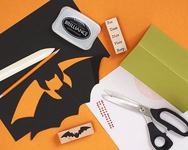Halloween Party Invitation Supplies