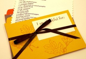 Grateful Table recipe cards
