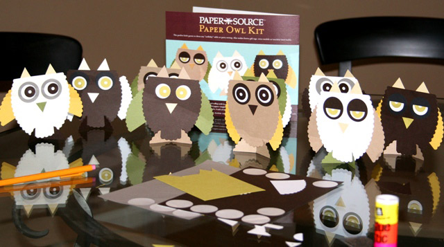 Owl placecards