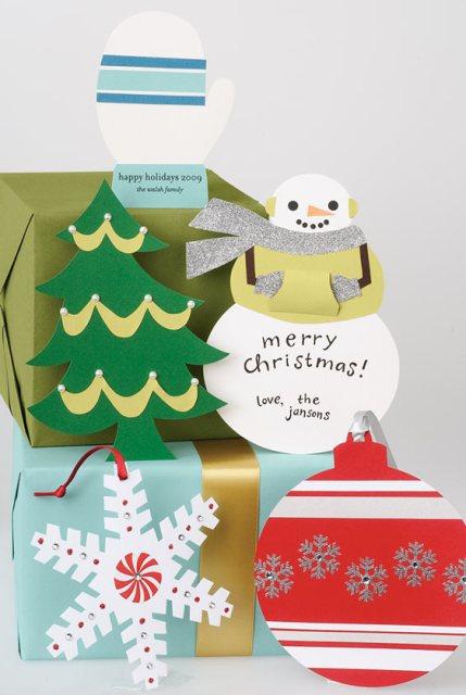 Holiday card making_shape cards