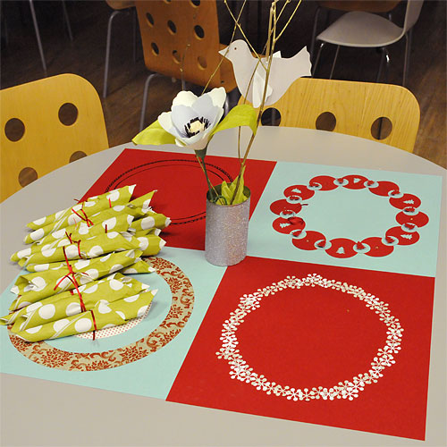 Personalized Placemats