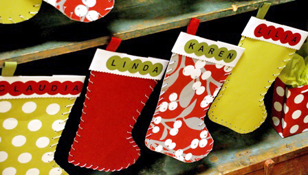 Crafts For Christmas Paper Stockings
