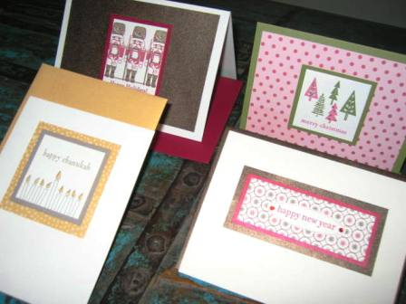 Paper Source handmade holiday cards