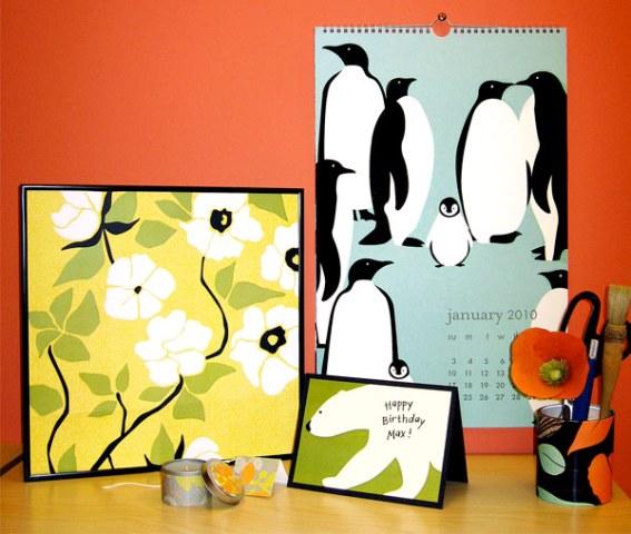 Re-using Your PS Wall Art Calendar - Paper Source Blog