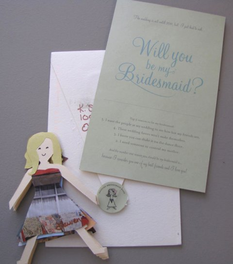 Bridesmaid dolls