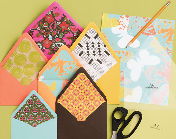 How to decorate envelopes