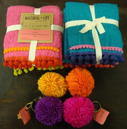 Fun gifts_pom pom kitchen towels
