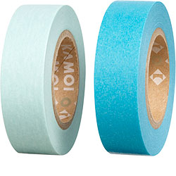 Decorative tape_blue washi tape