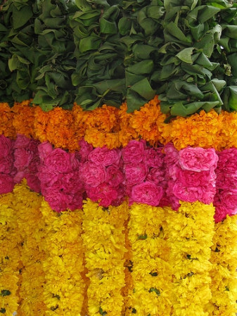 Marigold Garlands Inspiration