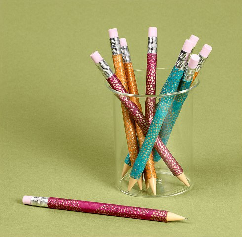 Decorate pencils