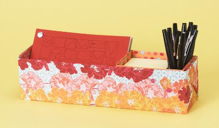 Decorative desk caddy
