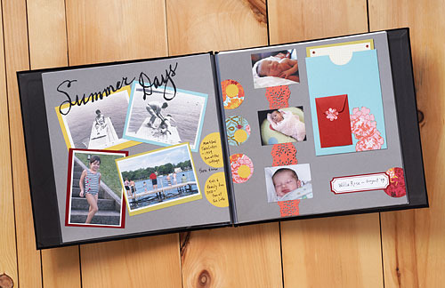 Learn scrapbooking tips