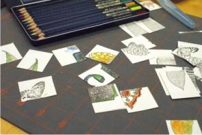 Paper Source scrapbooking class