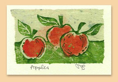 Salmonberry Studio Apple Card