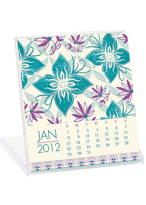 Paper Source 2012 Letterpress Calendar