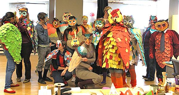 Paper Owl Costumes