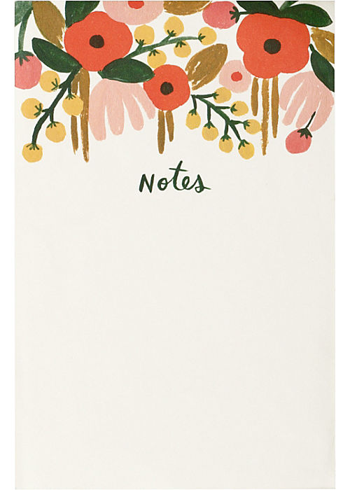 Rifle Floral Notepads