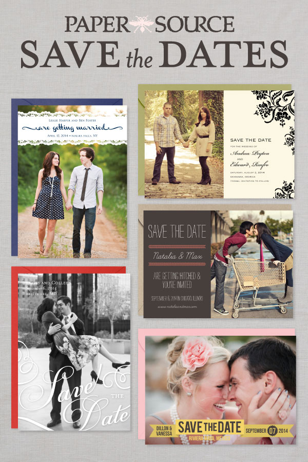 Custom Save the Date Cards | Paper Source