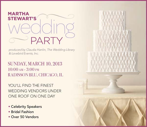 calling all chicago brides martha stewart s wedding party ps