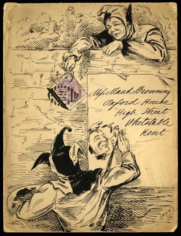 vintage mail art
