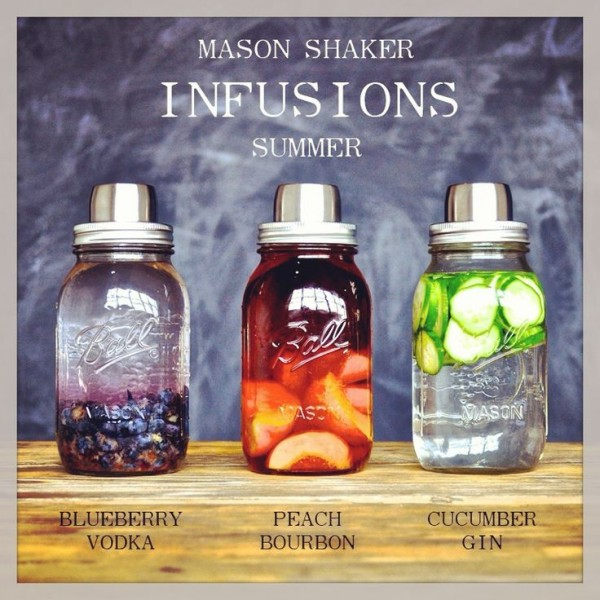 Mason Shaker Infusions