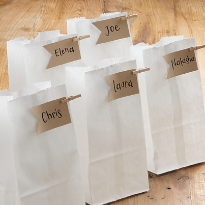 favor bag ideas