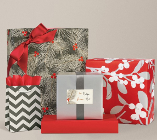 if - Elegant Christmas Wrapping Paper