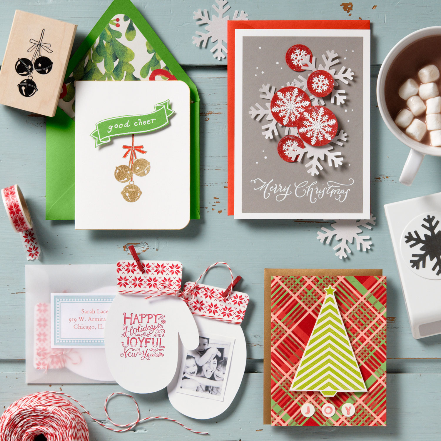 Making Holiday Cards Online - darwinromero.us - Best Card Templates
