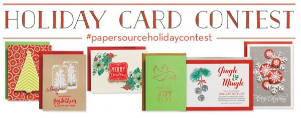 holiday card contest header
