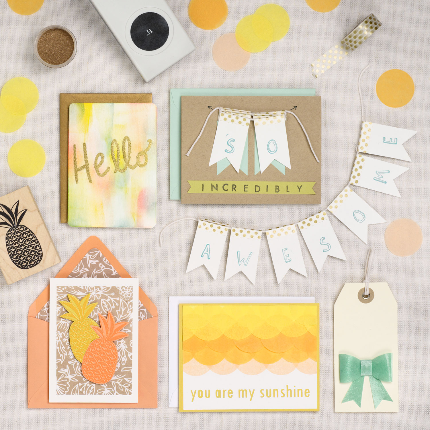 Creative Card Making Sunny Greetings Paper Source Blog
