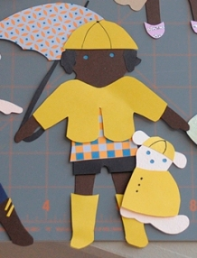 rainy day craft ideas a new take on the classic paper doll paper source 5311