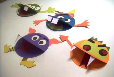 monster craft ideas paper monsters craft project paper source 2503