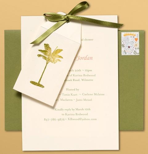 Wedding Registry Invitation: Bridal Shower Invites