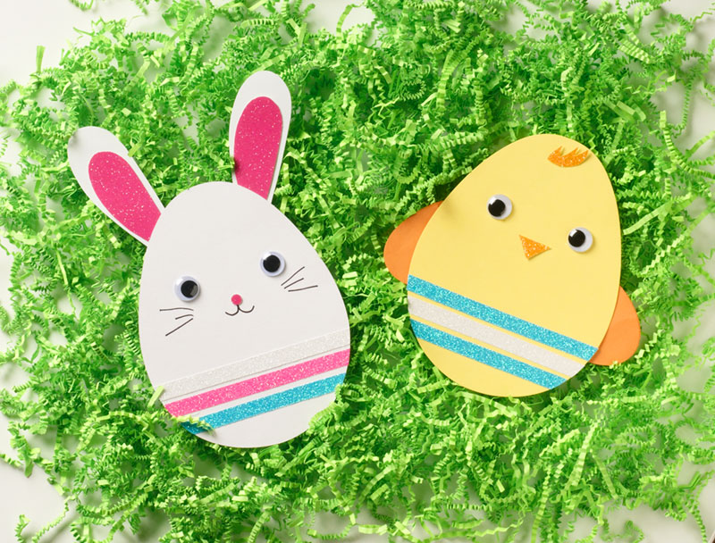 how to make easter cards out of paper