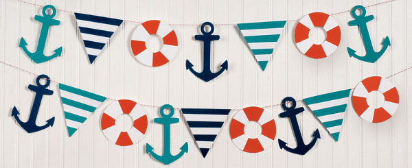 Marketing Nautical Garland Kit Paper Source Blog