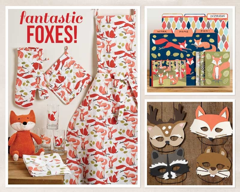 We Love Foxes! And you'll love this fabulous fox design too