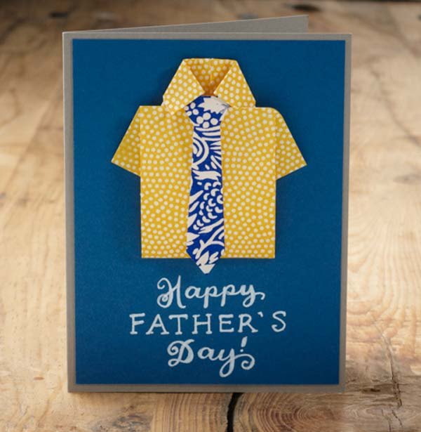 how to make a fathers day shirt card paper source how to s day card paper source 8210