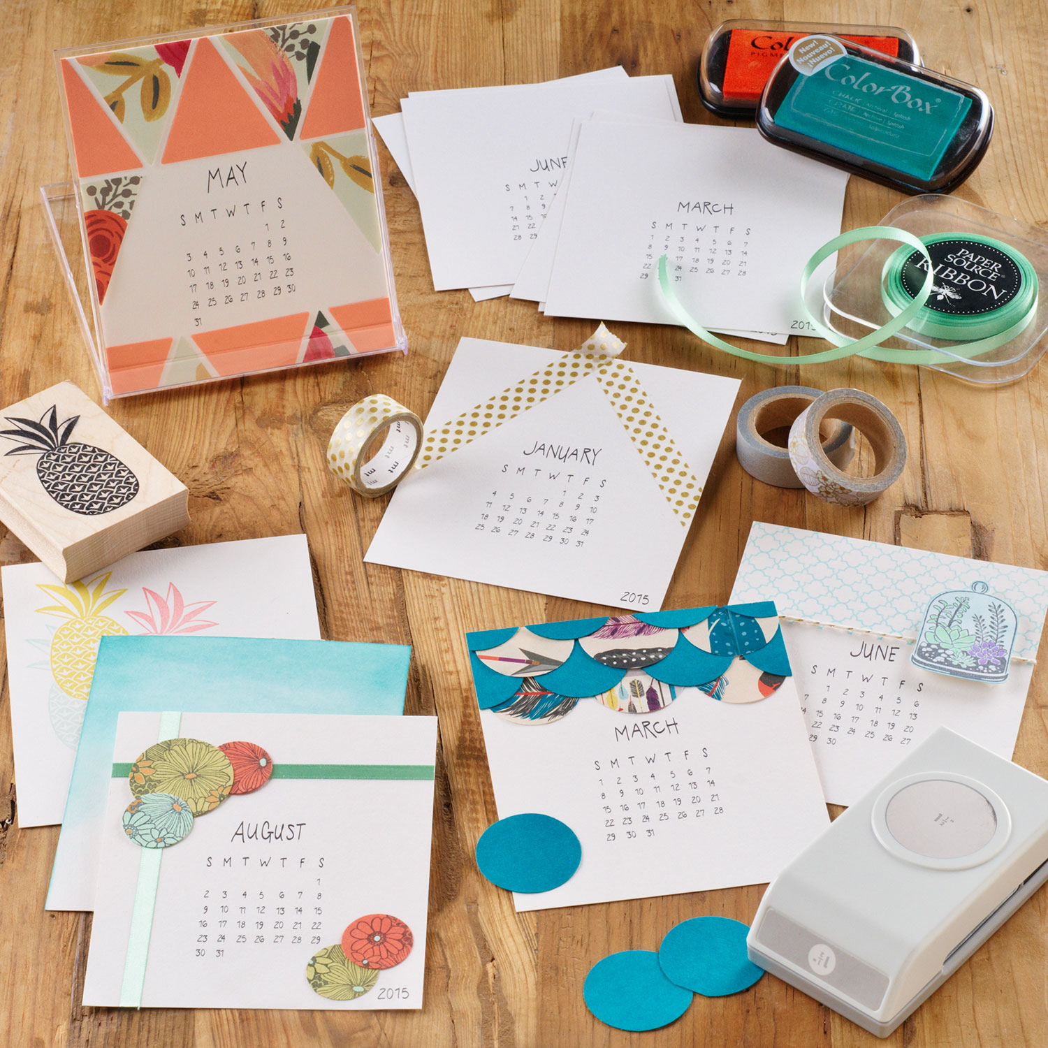 November Calendar Diy : Workshop diy calendar paper source