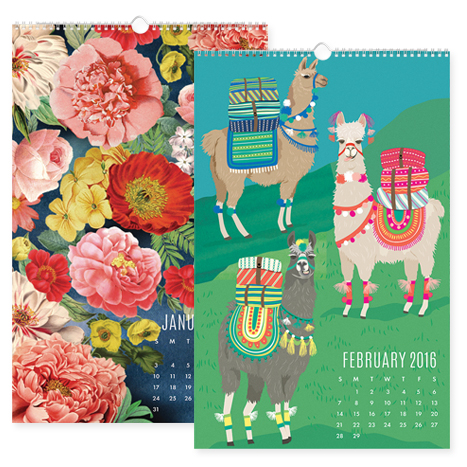 wall calendars with featuring artwork