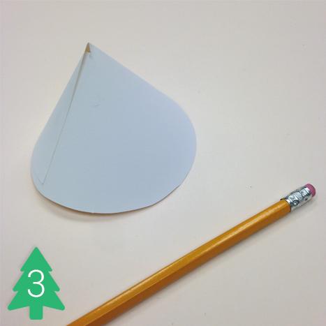 Cardstock, scissors, hot glue, and glitter paper