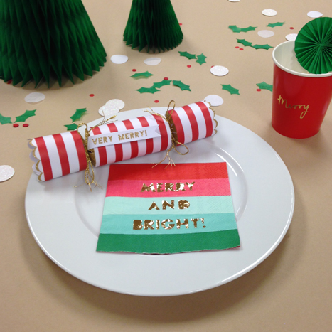 Merry and Bright Place Setting