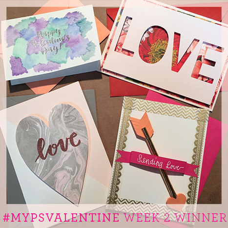 Week two winner of the MyPSValentine Contest