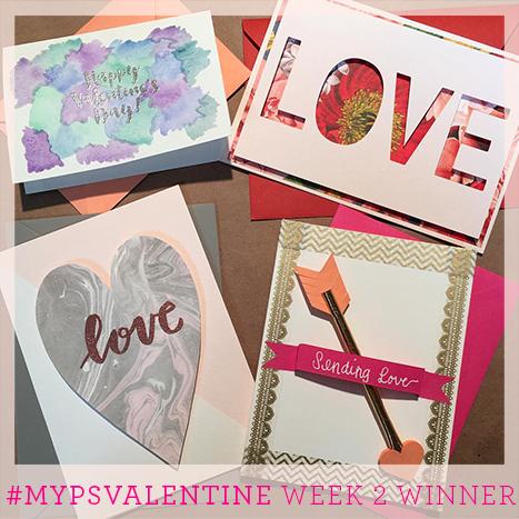 Week two winner of the MyPSValentine Contest