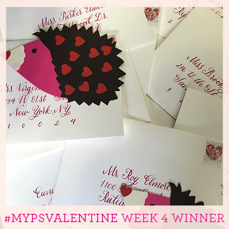 Week four winner of the MyPSValentine Contest