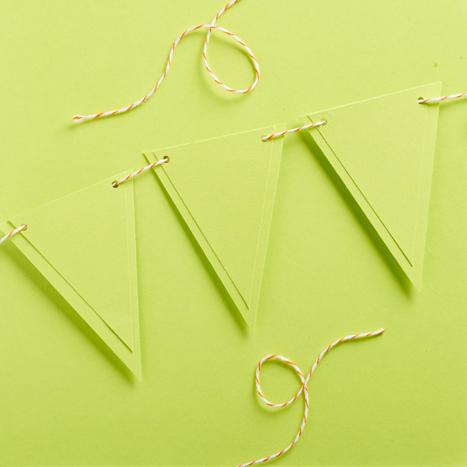 light green pennants
